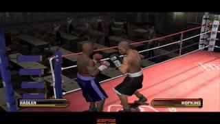Marvin Hagler Vs Bernard Hopkins - Fight Night Round 3 Gameplay PC