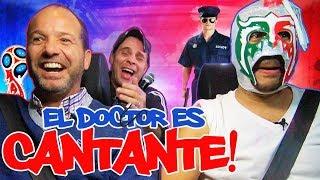 Luis García y Martinoli Al Volante con Escorpión Dios SUpremo