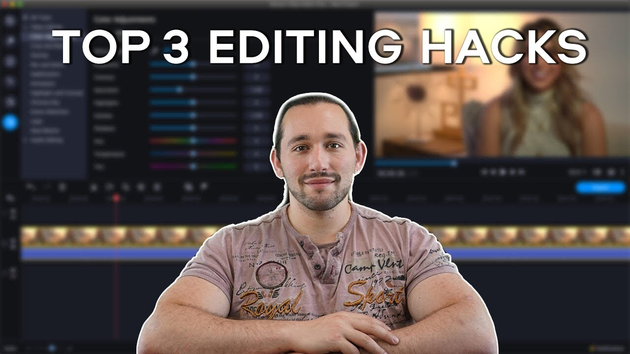 Top 3 Editing Tips That Look PRO 😎 Video Editing with Movavi