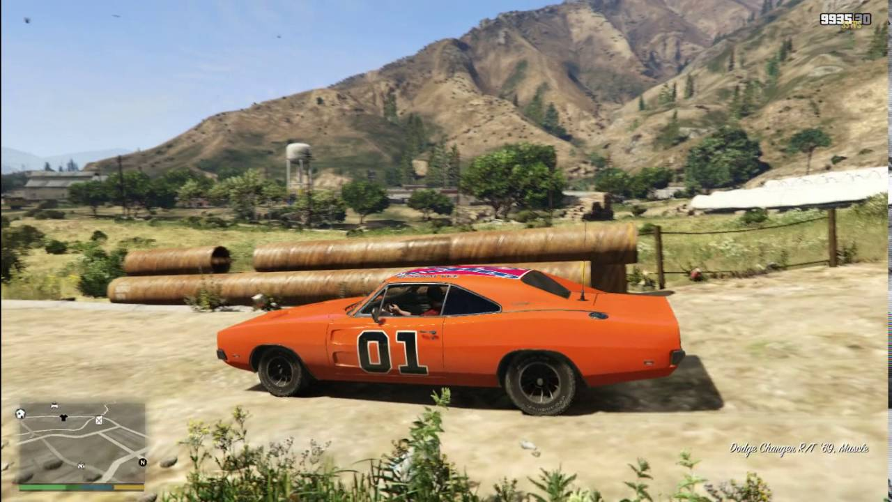 the general lee gta v youtube. Black Bedroom Furniture Sets. Home Design Ideas