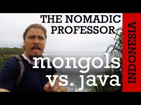 INDONESIA: How Did The Mongols End Up On The Far-away Island Of Java?