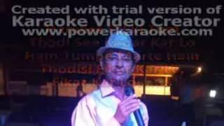 Kyon ki itna pyar tumko karte - Kyon Ki (2005) Karaoke with Lyrics