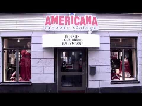 AMERICANA Classic Vintage - Gamla Brogatan 23, Stockholm