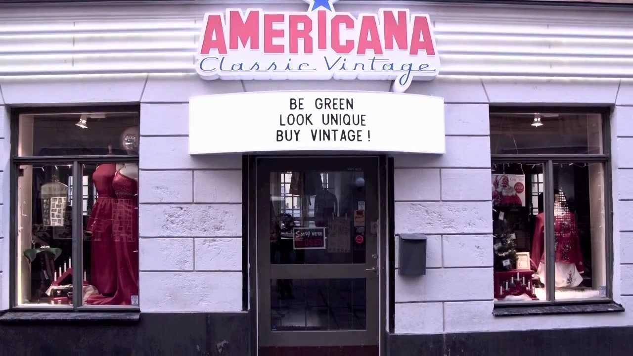 vintage affär stockholm