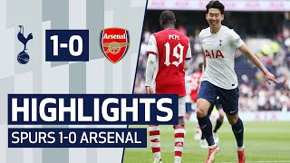 Heung-min Son scores the winner against Arsenal! HIGHLIGHTS