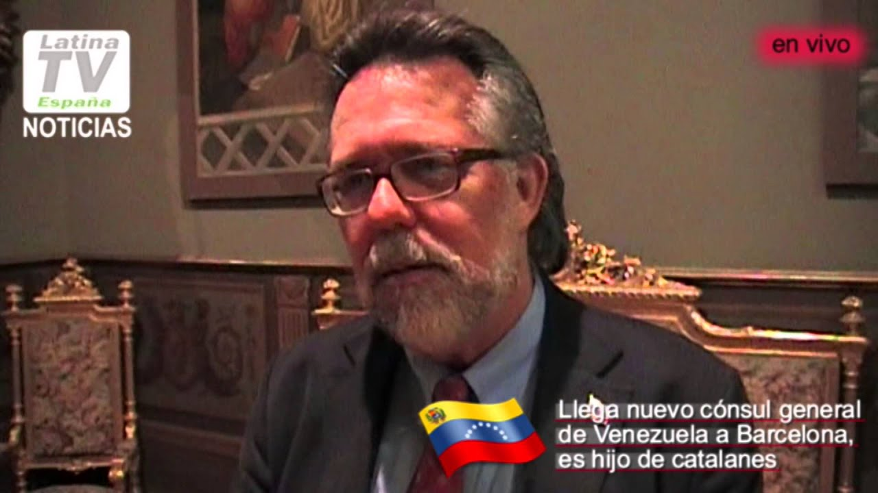 Entrevista con el nuevo cónsul de Venezuela en Barcelona Ricardo Capella  Mateo 32cbdcc89a2