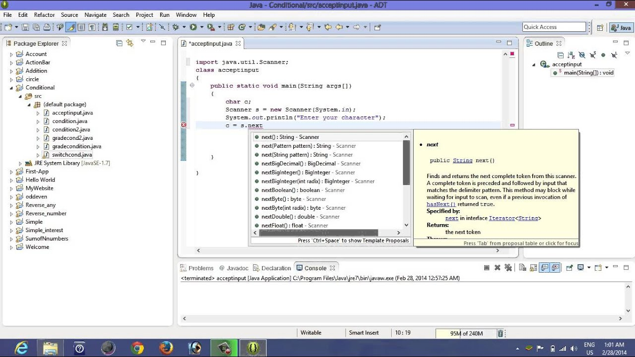 How To Take Character Input In Java Youtube