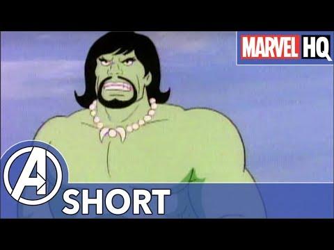 Hulk Hates Road Trips! | Marvel Mash-Ups: Hulk | Miami Hulk