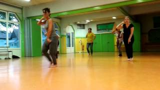"""Hello hello tu floor pe jab hai aayi "" session de danse vendredi18-09-2015."