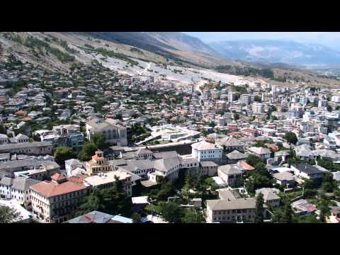 Gjirokastër, Albania - City view from the fortress (17.08.2014)