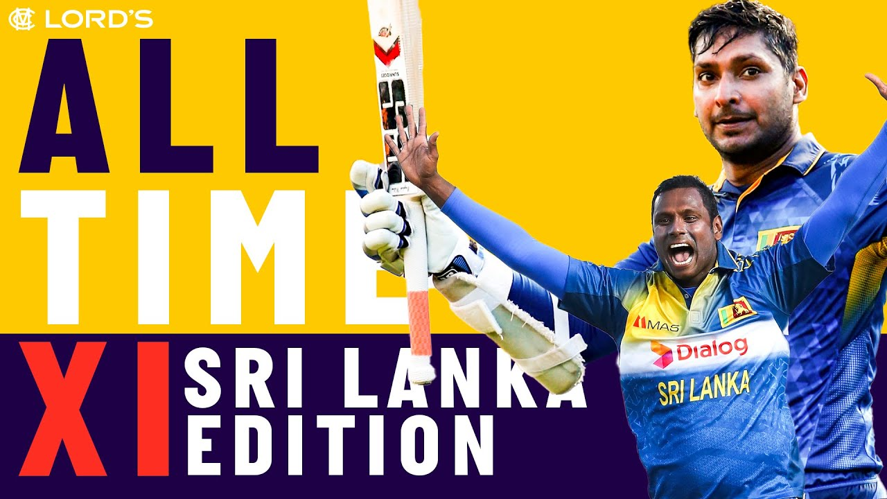 Sri Lanka Legends Pick Their All Time XIs!   Sangakkara, Mathews and Dharmasena   Lord's
