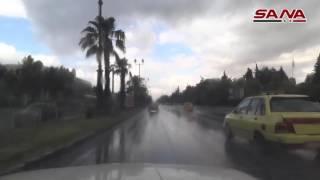 В СИРИИ НЕТ ВОЙНЫ - Дождь в Дамаске, 28.05.2016 (أمطار دمشق)