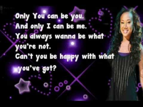 Cymphonique Miller (How to rock)--Only you can be you Lyrics
