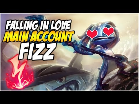 FALLING IN LOVE WITH FIZZ - Season 8 Climb to Master | League of Legends
