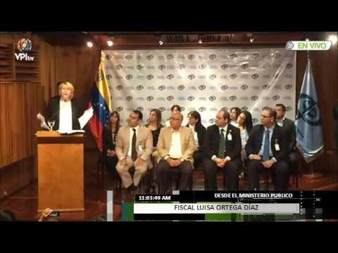 Pronunciamiento Fiscal Luisa Ortega Díaz
