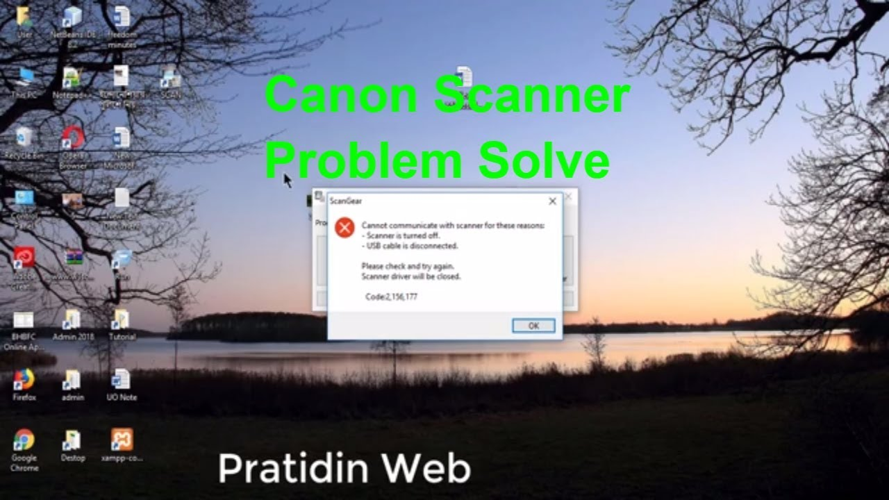 canon scanner lide 120 | scanner is turned off | usb cable is disconnected  problem solve 2018