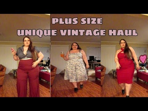 Plus Size Unique Vintage Haul