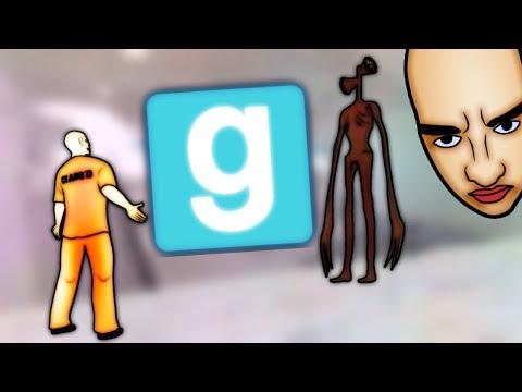 Siren Head и монстры Тревора Хендерсона в GMOD | SergeyRed
