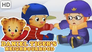 Daniel Tiger ⛸️ Olympic Sports in the Snow! 🏂 | Videos for Kids