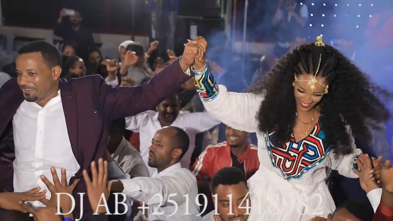 ሠርግን የሚያስንቅ የቅልቅል ፕሮግራም - ጉራጊኛ እንደጉድ ተጨፈረ -Yishak & Hana Gurage Wedding-DJ AB Ethiopia
