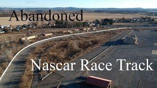 Exploring ABANDONED Nascar Race Track - Nazareth Speedway (PA)