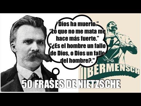 Las 50 Mejores Frases De Friedrich Nietzsche