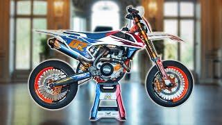 KTM 500 EXC-F SUPERMOTARD : FRANCE EDITION 🇫🇷