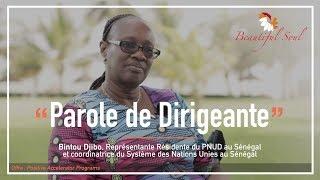 Parole de Dirigeante - Bintou Djibo (PNUD)