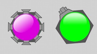 2 NEW DIEP.IO DOMINATORS + TAG MODE UPDATE!! // Trapper and Gunner Dominators