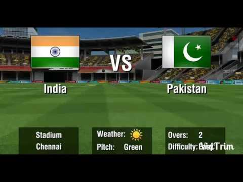 INDIA Vs. PAKISTAN 2 Over Exclusive Match