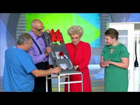 Жить здорово! Как компактно хранить обувь. (07.10.2016)