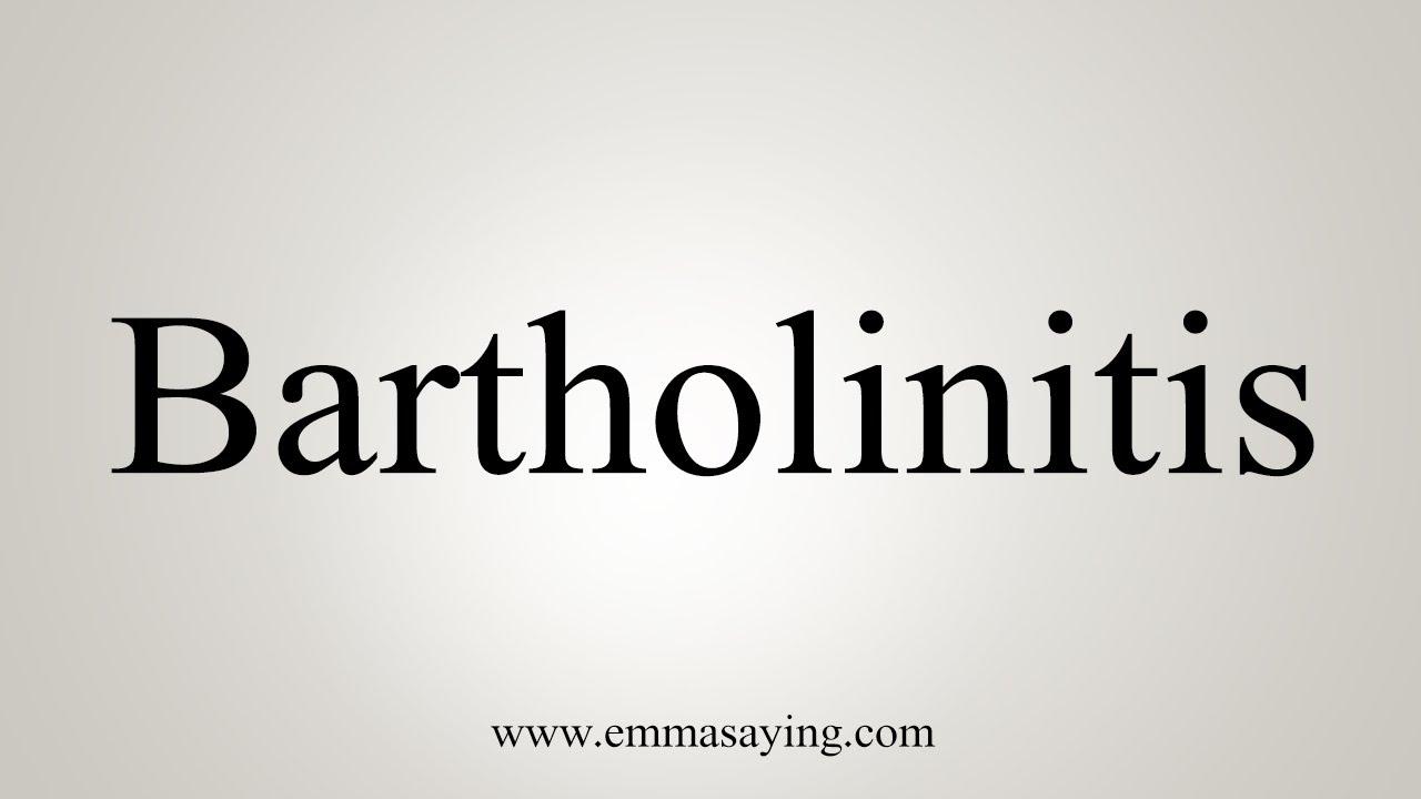 Bartholinitis fotos