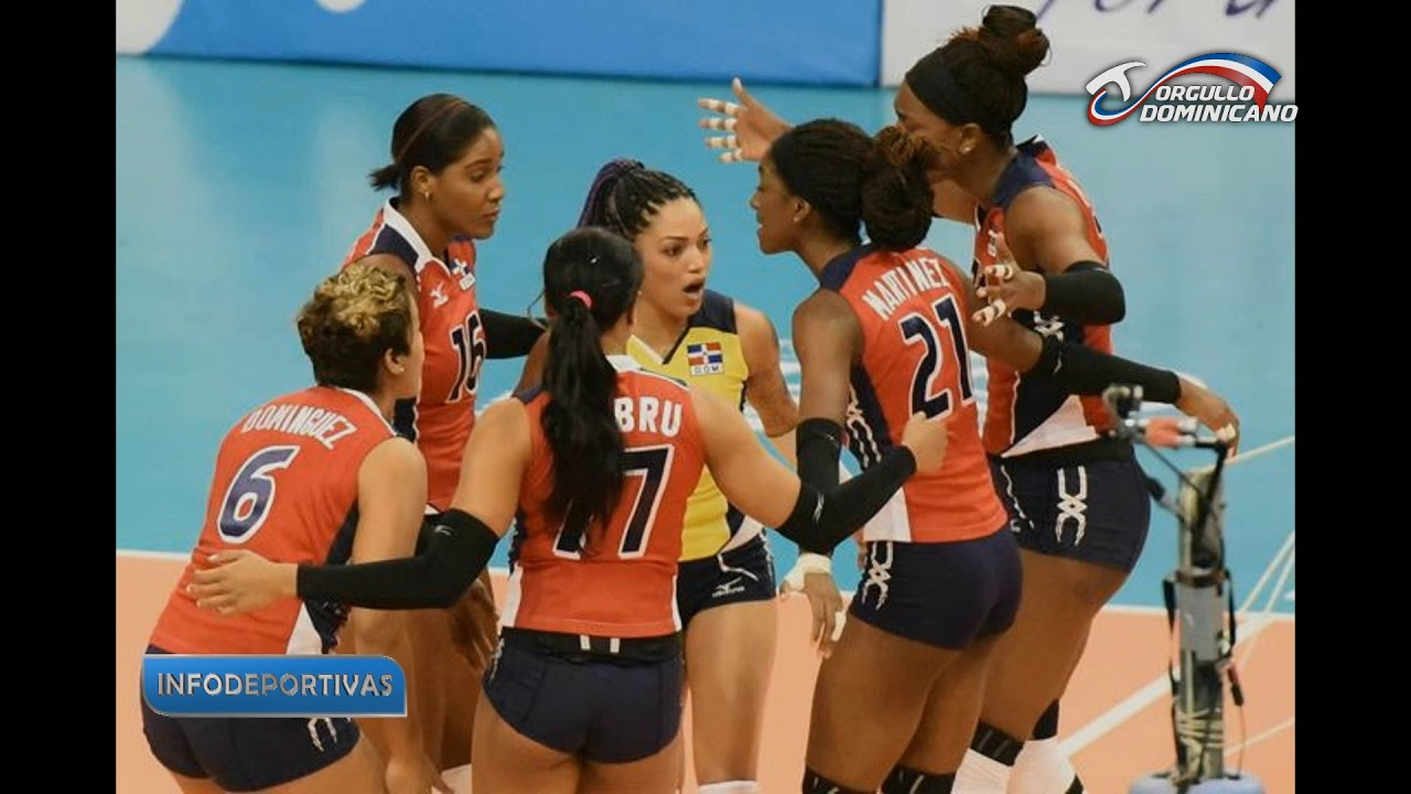capitana del equipo de voleibol dominicano