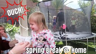 Trampoline Accident during our Spring Break! / Life As We Gomez Quarantine Spring Break 2020 YouTube Videos