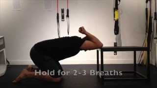Bench Thoracic Spine Mobilization - Latissimus Dorsi Stretch
