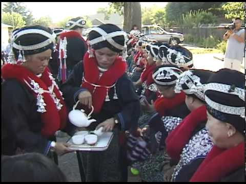 Threads of Tradition - Mien Big Hat Wedding - YouTube 7f0c4024f92