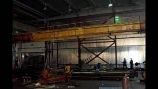 Демонтаж мостового крана(, 2011-07-29T23:34:11.000Z)