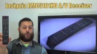 INSIGNIA RMC5101HD Audio/Video Receiver Remote PN: 8300060300010S - www.ReplacementRemotes.com