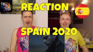 SPAIN EUROVISION 2020 REACTION: Blas Cantó- 'Universo'