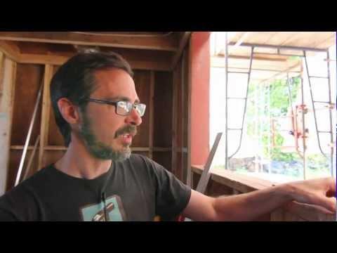 Karuna Passive House Window Installation Demonstration