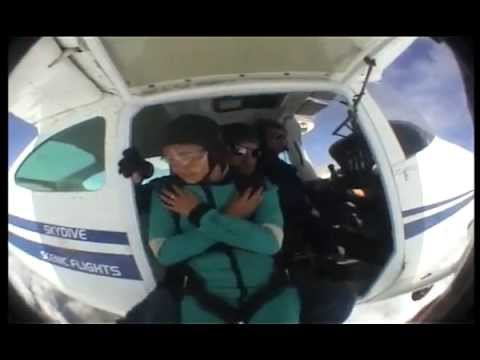 Michelle SkyDive In NZ
