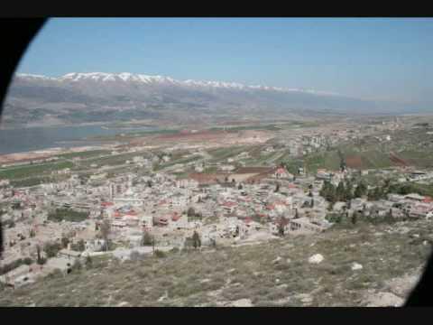 Karaoun village, West Bekaa, Lebanon