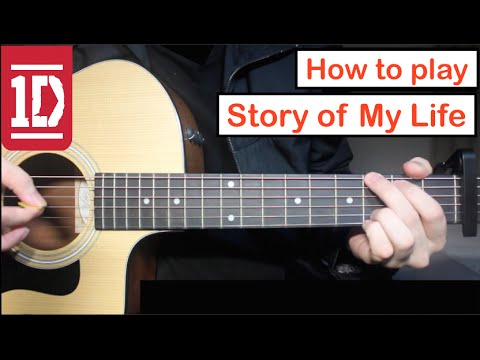 Story of My Life - One Direction | Guitar Lesson (Tutorial) How to ...