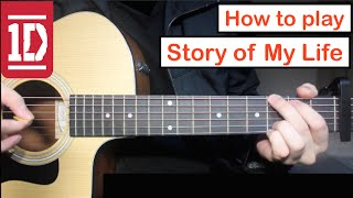 Story of My Life - One Direction | Guitar Lesson (Tutorial) How to play Chords