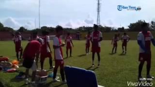 Pagi Hari PSM Makassar Latihan Di Stadion Haji Agus Salim