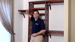 Cut-to-fit Closet System
