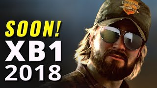Top 25 Upcoming Xbox One Games for 2018