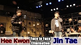 Hee Kwon , Jin Tae Ι Mic Monster Ι Eliminations