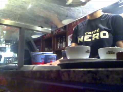One Boy pays One Thousand Pennies in Cafe Nero HD