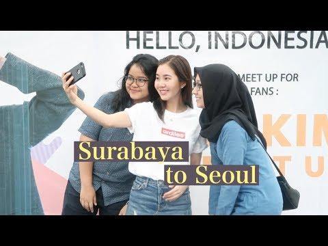 Surabaya Meet Up & Back to Seoul! | Indonesia Vlog #2